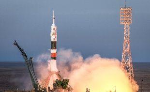 Décollage réussi pour l'équipage du Soyuz MS-11, le 3 décembre 2018.
