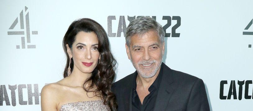 Les époux Amal et George Clooney