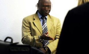 Straton Musoni lors de son procès le 4 mai 2011 à Stuttgart