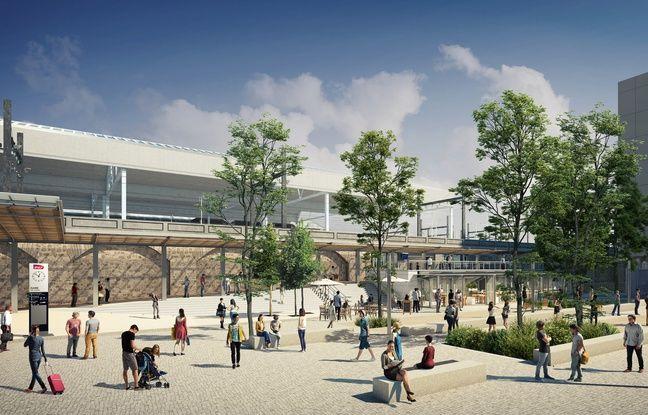Le gare de Perrache et ses alentours doivent être réaménagées en 2020.