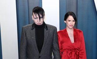 Marilyn Manson et sa femme Lindsay Usich