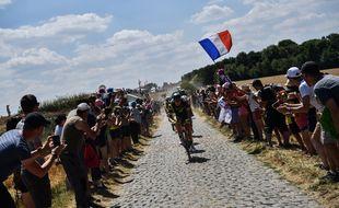 L'étape vers Roubaix