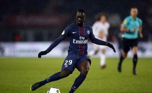 L'attaquant parisien Jean-Kevin Augustin.