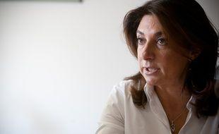 Martine Vassal, conseillère générale, à Marseille le 27 octobre 2011.