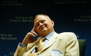 L'auteur TomClancy, photographié en 2004.