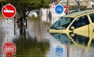 Les dégâts causés par la tempête Xynthia, ici à Aytre le 2 mars 2010, ont coûté très cher aux assureurs.