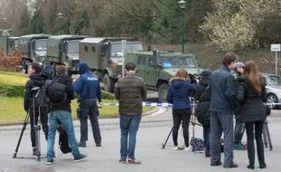 Le 31 mars 2016 à Courtrai, lors d'une opération liée à un complot d'attaque déjoué en France.