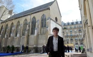 La présidente de la Conférence des religieux et religieuses en France (Corref), Véronique Margron.