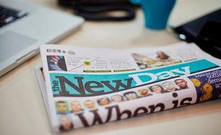 Un nouveau quotidien généraliste, le premier en 30 ans, The New Day,