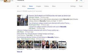 Une recherche dans Google News.