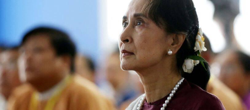 Aung San Suu Kyi, le 19 juillet 2019.