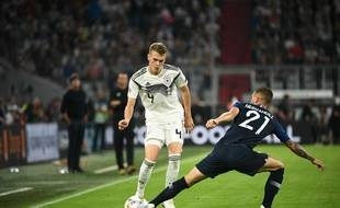 Lucas Hernandez et l'équipe de France affrontent l'Allemagne à Munich.