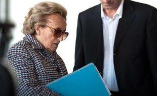 Bernadette Chirac, le 14 septembre 2012, à Eyrein, près de Tulle.
