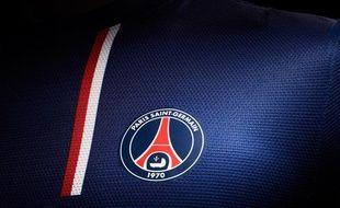 Le nouveau maillot du PSG pour la saison 2012-2013.
