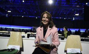 La ministre de l'Ecologie Ségolène Royal au Bourget le 5 décembre 2015