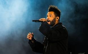Le chanteur The Weeknd