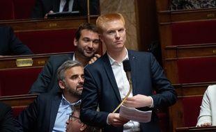 Le député LFI du Nord, Adrien Quatennens.