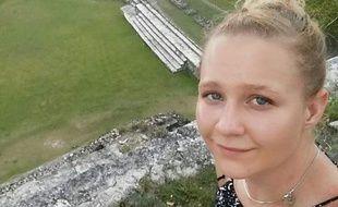 Reality Leigh Winner, la jeune femme qui a divulgué des documents de la NSA sur les piratages russes dans la présidentielle américaine de 2016.