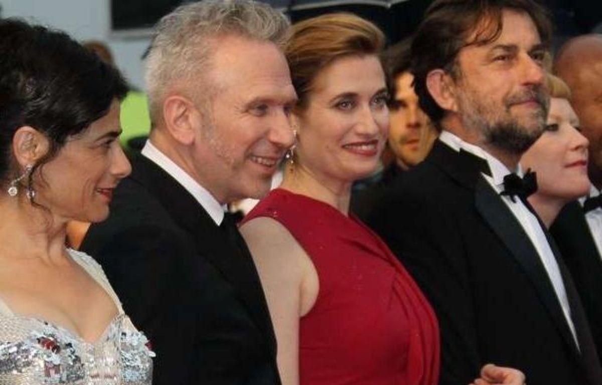 Hiam Abbas, Jean-Paul Gaultier, Emmanuelle Devos et Nanni Moretti, tous membres du jury du 65e Festival de Cannes. – JOEL RYAN/AP/SIPA