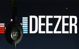 Le logo de Deezer.