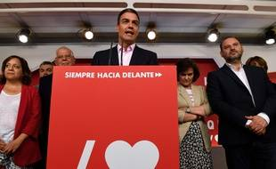 Le chef du gouvernement espagnol Pedro Sanchez à Madrid, le 26 mai 2019.