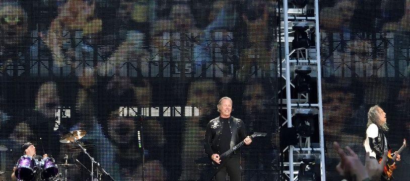 Metallica en concert au Stade de France le 12 mai 2019.