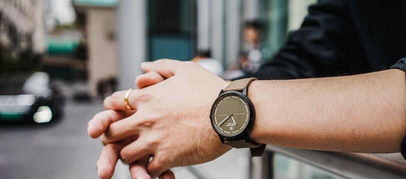 La montre hybride Mate2+ de Noerden lancée à 139 euros.