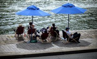 Les quais de Seine, le 28 juillet dernier.