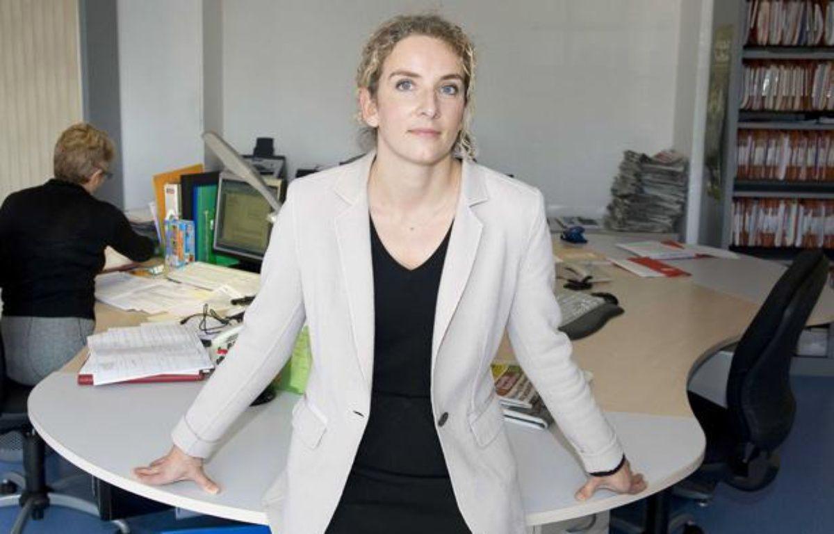 Delphine Batho, députée PS des Deux Sèvres et porte parole de François Hollande pour la présidentielle 2012. – NOSSANT / SIPA