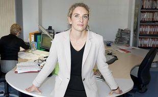 Delphine Batho, députée PS des Deux Sèvres et porte parole de François Hollande pour la présidentielle 2012.