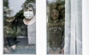 Une famille en quarantaine dans l'Oise pendant le confinement (illustration)