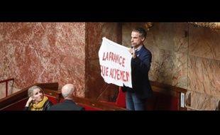 Le député haut-garonnais Sébastien Nadot, le 19 février 2019, dans l'hémicycle.