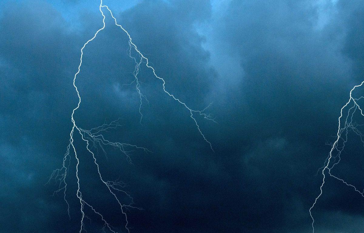 13 départements sont placés en vigilance orange pour orages (Illustration). – NEWMAN MARK/SIPA