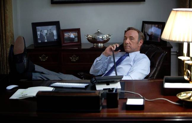 Kevin Spacey dans House of cards