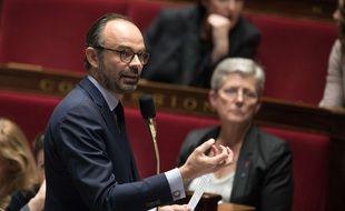 Le Premier ministre Edouard Philippe le 12 décembre 2017 à l'Assemblée nationale