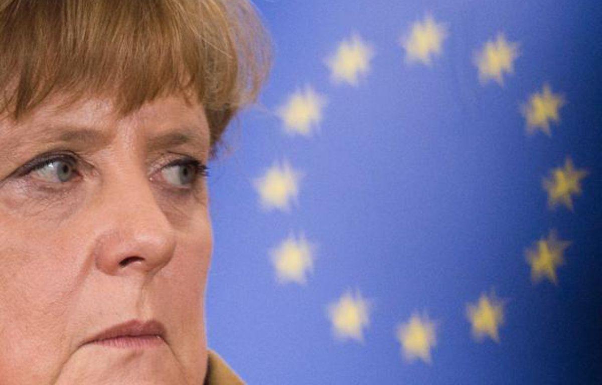 Angela Merkel à Bruxelles le 7 novembre 2012. –  SIERAKOWSKI/ISOPIX/SIPA