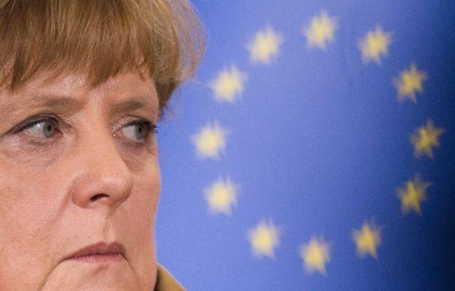 Angela Merkel à Bruxelles le 7 novembre 2012.