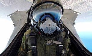 A 39 ans, Jean-Guillaume Martinez est pilote de chasse et démonstrateur Rafale.