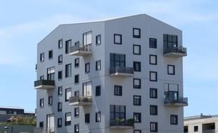 Illustration immeuble , logement , à Bordeaux