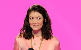 La chanteuse Lorde aux iHeartRadio MMVA