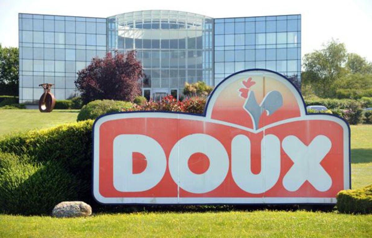 L'usine du groupe Doux à Châteaulin, le 1er juin 2012. – FRED TANNEAU / AFP