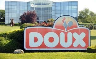 L'usine du groupe Doux à Châteaulin, le 1er juin 2012.