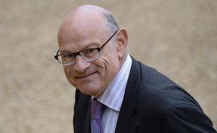 Jean-Marie Le Guen à son arrivée le 27 août 2014 à l'Elysée pour le Conseil des ministres