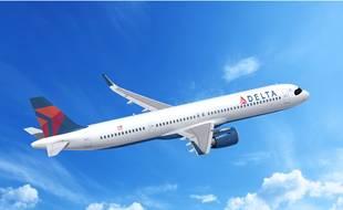 Un A320neo de Delta Air Lines..