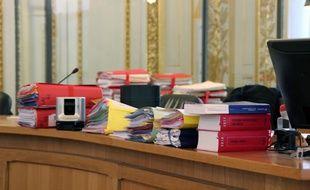 Dossiers à la cour d'assises de Rennes, au parlement de Bretagne.