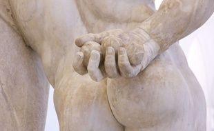 Une statue d'Hercules