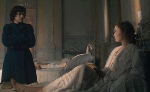 Soko et Lily-Rose Depp dans «La Danseuse».