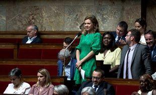 La députée LREM Blandine Brocard en 2018 à l'Assemblée.