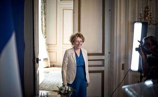 Muriel Pénicaud au ministère du Travail le 28 juin 2017.