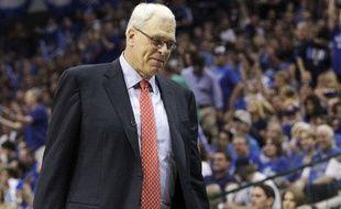 Phil Jackson, le coach des Los Angeles Lakers, le 8 mai 2011, à Dallas.
